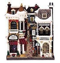 Фасад Городок рождественских покупок, свет, 25.2x21.6x8 см, батарейки, Lemax 45094-lemaxФасады<br>В городе несколько рождественских магазинов, к тому же в предпраздничные дни проводятся большие и шумные ярмарки, но здесь - особое местечко. Знатоки и ценители именно сюда приходят за лучшими свечами и подсвечниками ручной работы, оригинальными рождественскими венками и чудесными антикварными игрушками, которых больше нигде не найти.      Размер - 25.2x21.6x8 см  Материал - пластик  Работает от 3-х батареек типа АА (в комплект не входят).     ВНИМАНИЕ! К батареечному блоку возможно подключение сетевого адаптера 220/4,5V  - арт. 64517  Обратите внимание на запасные лампы - арт. 14450     Производитель LEMAX, Голландия  Производство размещено в Китае $$$<br>