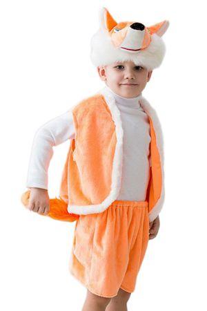 Карнавальный костюм ЛИСЕНОК В ШОРТАХ, 3-5 лет, Бока 2050-бока