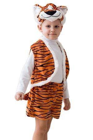 Карнавальный костюм ТИГР малый , 3-5 лет, Бока 1854-бока