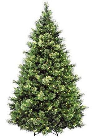 Искусственная сосна КАРОЛИНА с шишками, (хвоя леска+PVC), 400 теплых белых LED ламп, 152 см, National Tree Co 31HCAPC50LPC/CAP-W90G-50Ели 1,5-1,7 м National Tree<br>Эта сосна сочетает воздушность и изящество с красотой и роскошью! Электрогирлянда с теплыми белыми LED лампами дарит ей совершенство!Сосна КАРОЛИНА обладает пышной густой кроной с очень оригинальной конфигурацией ветвей. В каждой веточке удачно сочетаются отростки разной длины, различных оттенков зеленого цвета, диаметра и материала из которого изготовлена хвоя. Упругие густые побеги с короткими иголочками выполненные из классического PVC чередуются с пушистыми отростками с удлиненной хвоей, изготовленной из цветной лески. Декор завершает заснеженность, созданная распушенными кончиками лески, и натуральные шишки.  Электрогирлянда, искусно вплетенная  в хвою, является достойным завершением ее неповторимого дизайна.Высота - 152 смКоличество веток - 482Нижний диаметр - 117 смХвоя: PVC и лескаЦвет: зеленый, разные оттенкиДлина хвои - 2 - 4,5 смДекор: распушенные кончики лески, создающие эффект заснеженности, и натуральные шишки.  Электрогирлянда с 400 теплыми белыми LED лампами.Ветви дерева закреплены шарнирно, при установке ели их необходимо просто откинуть. Подставка - металлическая.Сосна поставляется в коробках из плотного картона, предполагающих многолетнее хранение. Ветви после хранения очень быстро восстанавливают форму. Имеет металлическую подставку, обеспечивающую устойчивость.  Собирается ель быстро, нужно только отогнуть ветви, вставить верхушку и соединить коннекторы электрогирлянды.   Ель сертифицирована по европейским стандартам качества и безопасности.  Производитель: National TREE COMPANY, Cranford, New Jersey, USA.Производство размещено в Гонконге.  $$$<br>