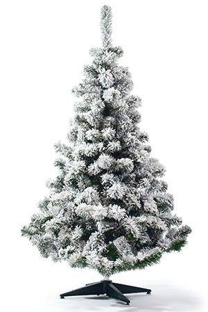 Искусственная ель СНЕЖНАЯ ФАНТАЗИЯ (напыление искусственного снега), 215см, EverChristmaS, Царь Елка СНФ-215Ели 0,6-2,4 м PVC и леска, EverChristmaS<br>Искусственная ель СНЕЖНАЯ ФАНТАЗИЯ создает удивительную новогоднюю атмосферу, ощущение праздника и зимней свежести!  Пышные ветви этой ели густо усыпаны снежной крошкой. Этим чудесным деревом хочется бесконечно любоваться.  Особенность этой ели - оригинальный декор - напыление искусственного снега на хвою (флокированная хвоя).  Искусственный снег хорошо держится на ветвях, не осыпается. Визуально ель просто не отличима от укутанной снегом лесной красавицы. Только с праздничным убранством важно не переборщить: пышный декор самой ели предполагает лаконичность украшения.  <br>Заснеженные (флокированные) ели  в последние годы стали очень популярны в европейских странах.  <br> <br>Высота - 215 см<br>Хвоя: трехслойное PVC<br>Цвет хвои:  зеленый, напыление искусственного снега (флок)<br>Длина хвои  - 3,5 см<br>Декор: флок - напыление искусственного снега.<br>Ветви ели закреплены шарнирно, при установке их необходимо просто откинуть. <br>Подставка металлическая<br> <br>На фотографии может быть изображена искусственная ель этой модели, но другого размера.<br> <br>Производитель^ EverChristmaS, Царь Елка, Россия<br>