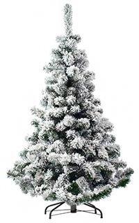 Искусственная ель СНЕЖНАЯ ФАНТАЗИЯ (напыление искусственного снега), 230см, EverChristmaS, Царь Елка СНФ-230Ели 0,6-2,4 м PVC и леска, EverChristmaS<br>Искусственная ель СНЕЖНАЯ ФАНТАЗИЯ создает удивительную новогоднюю атмосферу, ощущение праздника и зимней свежести!  Пышные ветви этой ели густо усыпаны снежной крошкой. Этим чудесным деревом хочется бесконечно любоваться.  Особенность этой ели - оригинальный декор - напыление искусственного снега на хвою (флокированная хвоя).  Искусственный снег хорошо держится на ветвях, не осыпается. Визуально ель просто не отличима от укутанной снегом лесной красавицы. Только с праздничным убранством важно не переборщить: пышный декор самой ели предполагает лаконичность украшения.  <br>Заснеженные (флокированные) ели  в последние годы стали очень популярны в европейских странах.  <br> <br>Высота - 230 см<br>Хвоя: трехслойное PVC<br>Цвет хвои:  зеленый, напыление искусственного снега (флок)<br>Длина хвои  - 3,5 см<br>Декор: флок - напыление искусственного снега.<br>Ветви ели закреплены шарнирно, при установке их необходимо просто откинуть. <br>Подставка металлическая<br> <br>На фотографии может быть изображена искусственная ель этой модели, но другого размера.<br> <br>Производитель^ EverChristmaS, Царь Елка, Россия<br>