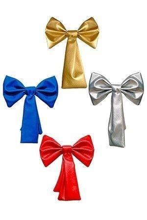 Украшение для интерьера и больших елок БАНТ ГАЛСТУК, эко-кожа, цвета в ассортименте, 50см, Россия БТ1-500Бусы, грозди, колокола, банты<br>Украшение БАНТ ГАЛСТУК выполнен из влагостойкого морозоустойчивого материала эко-кожа. <br>Незаменим в новогоднем убранстве интерьерьера и высоких новогодних елей.<br> <br>Размер: 50 см<br>Цвета в ассортименте: золотой, серебряный, красный, синий.<br>Проволоку для крепления банта можно приобрести отдельно: арт. CAA930900, 070827, 708275, 700206<br>Производитель: Россия<br>