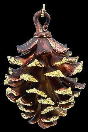 Ёлочное украшение ИЗЯЩНАЯ ШИШКА, акрил, медно-золотая, 8 см, Crystal deco 160695Украшения изящные золотые<br>Настоящие новогодние шишки тщательно наряжаются к празднику, чтобы стать изумительно изящным, волшебно мерцающим украшением!<br> <br>Размер - 8 см<br>Материал - акрил, блёстки<br>Цвет - медно-золотой<br> <br>Производитель Crystal deco, Нидерланды<br>Производство размещено в Китае<br>