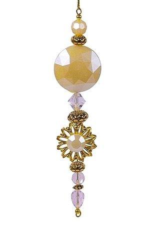 Украшение-подвеска ВЕРСАЛЬ, акрил, жемчужная, 15.2 см, Crystal deco 162771Украшения изящные золотые<br>Эта элегантная подвеска мягко светится французской изысканностью и благородной роскошью.<br> <br>Длина - 15.2 см <br>Цвет - жемчужный, золотой<br>Материал - акрил<br> <br>Производитель Crystal deco, Нидерланды<br>Производство размещено в Китае<br>
