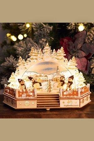 Светильник декоративный СНЕГОВИЧКОВЫЕ ЗАБАВЫ с LED-огнями, 20х14х30 см, Sigro 52-1243Деревянные светильники и горки<br>Вы думаете, что Снеговички всегда стоят на том месте, где их слепили? А вот и нет, они ведь очень непоседливые и жизнерадостные, так что всегда найдут возможность покататься на санках, поиграть в снежки, подурачиться и повеселиться! Ещё и ваше настроение прихватят в свою чудесную компанию, чтобы разделить с ним свою радость от таких прогулок!<br> <br>Размер - 20х14х30 см<br>Материал - дерево<br>Работает от сети 220V (адаптер в комплекте) <br> <br>Производитель SIGRO, Германия<br>Производство размещено в Китае<br>