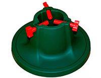Подставка для натуральной ели САТУРН с ёмкостью для воды, пластик, 40х19.3 см (диаметр ствола 8-11 см, высота 1.2-2.5 м), SNOWMEN SaturnПодставки  для елей, сумки для хранения<br>Ваша ёлочка будет чувствовать себя комфортно в этой подставке, цвет которой гармонично сочетается с хвоей, не отвлекая внимания от сказочного облика лесной красавицы. Специальное крепление позволит надёжно установить деревце, а внутренняя ёмкость для воды или земли поможет ему простоять подольше.<br> <br>Размер –40х19.3 смВнутренний диаметр – 8-11 смЁмкость для воды – 1 лМатериал – пластикПодходит для елей высотой 1.2 – 2.5 м<br>Производитель: SNOWMEN, РоссияПроизводство размещено в Китае<br>