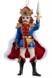 Ёлочная игрушка ЩЕЛКУНЧИК, полистоун, 15.8 см, Kurt S. Adler C9254Сказочные персонажи<br>Знаменитый балет, ставший символом Нового года и Рождества во всём мире, дарит незабываемое ощущение присутствия в сказке! Пусть и на вашей ёлке разыграется это чудесное действо, благодаря присутствию  самоотверженного Щелкунчика, который не только станет чудесным символом волшебного праздника, но и отразит атаку зловредного Мышиного Короля, если тот вдруг появится! <br> <br>Размер: 15.8 см<br>Материал - полистоун<br> <br>Производитель - Kurt S. Adler, Голландия<br>Производство размещено в Китае<br>