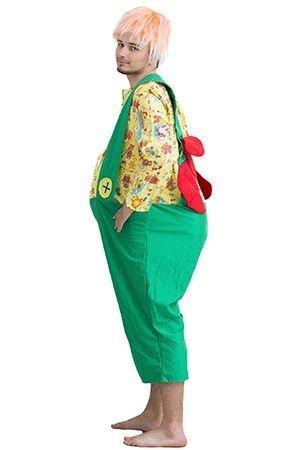 Карнавальный костюм КАРЛСОН, размер 48-50, Бока 1713-бокаКарнавальные костюмы для  взрослых<br>В костюме КАРЛСОН можно шалить и проказничать даже взрослым! Яркий костюм надолго останется в памяти у всех гостей карнавала!<br>В набор костюма входит: парик, комбинезон с набивным туловищем.<br> <br>Размер: 48-50.<br>Рост: 175 см.<br>Материал: трикотаж.<br>Рубашка может по цвету отличаться от показанного на фотографии.<br> <br>Производитель: БОКА , Россия.<br>