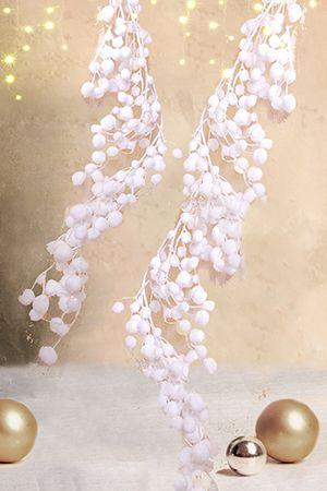 Гирлянда Kaemingk Снежные шарики 483715