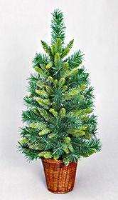Искусственная елка НАСТЕННАЯ зеленая (PVC+литая хвоя) в корзине, 76см, NV Traiding Co. 025074Настенные елки<br>Настенная елочка - оригинальный штрих  новогоднего интерьера!     Эта елочка имеет веточки с хвоей, различающейся по длине иголок и цвету. Благодаря этому выглядит очень свежей и нарядной. Настенную елочку можно подвесить на любую плоскую поверхность. Огромное ее преимущество в том, что разместить ее можно в любом, даже самом тесном помещении. И дома, и в офисе  она преобразит интерьер и подарит радость новогоднего праздника.      Высота елочки - 76 см  Хвоя - PVC+РЕ - литая хвоя  Длина иглы - 1,5-6 см  Цвет хвои - разные оттенки зеленого  Подставка - плетеная корзина     Производитель: NV Traiding Co., США  Производство размещено в Китае   $$$<br>