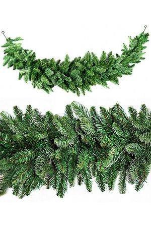Сваг НОРМАНДИЯ (литая хвоя), 180х33 см, зеленый Triumph Tree 73683Хвойный декор Triumph<br>НОВИНКА!<br>Фирма ТРИУМФ представила на российский рынок хвойную гирлянду - сваг НОРМАНДИЯ,  уникальную по своей красоте. Гирлянда  великолепна благодаря материалу, из которого изготовлена его хвоя. Упругая, мягкая, не теряющая своей формы, необыкновенно приятная на ощупь хвоя изготовлена из формованного пластика высочайшего качества. Такую хвою называют литьем, поскольку каждая веточка выливается целиком в специальных формах. В поперечном разрезе хвоинки имеют круглую форму, такую же, как хвоинки натуральной ели. Визуально хвоя НОРМАНДИИ неотличима от настоящей.<br> <br>Длина гирлянды: 1,80 м Диаметр - 36 см <br>Количество веточек - 322<br>Хвоя - литье (РЕ)<br>Длина иглы - 1,5 см <br>Цвет: зеленаяГирлянда  производится фирмой TRIUMPH TREE, Голландия, изготавливается в Тайланде Производители дают гарантию 10 лет на все изделия TRIUMPH.Продукция TRIUMPH входит в число лидеров рождественских продаж во многих странах Европы.<br>