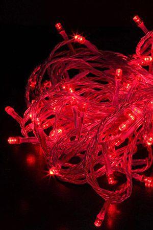 КЛИП ЛАЙТ на силиконовом проводе ПРЕМИУМ КЛАСС комплект 60м с 600 LED лампами, цвет-красный, 24V, уличный, Beauty Led CL-EST600-10-1RКлип Лайт<br>Электрогирлянды серии ПРЕМИУМ КЛАСС на силиконовом проводе – это светодиодная продукция высочайшего качества. Гирлянды изготовлены с использованием известных на весь мир тайваньских светодиодов, характеризующихся необычайной яркостью, исключительно чистым свечением, огромным ресурсом работоспособности, наличием в цветовой шкале нестандартных расцветок. Прозрачный силиконовый провод прекрасно выдерживает низкие температуры (до -50°C), не теряя своей пластичности, что является необходимым условием при монтаже в зимнее время. Гирлянды обладают повышенной влагостойкостью (IP 67), обеспечивающей стабильную работу в условиях повышенной влажности.КЛИП ЛАЙТ (Clip Light) серии ПРЕМИУМ КЛАСС на силиконовом проводе - это низковольтовая (24V) световая гирлянда, предназначенная для украшения деревьев и новогодних елей. Подключается гирлянда к сети 220V через понижающий трансформатор.Комплект состоит из 3 гирлянд по 20 м (арт. EST200-10-1R), трансформатора  220/24V мощностью 30W (арт. EA30-600L),  рассчитанного на 600 светодиодов, выпрямителя (арт. EC24-2A) и трехлучевого разветвителя - тройника (арт. EC3-20). Гирлянды имеют с обоих концов коннекторы, с помощью которых могут быть соединены в линию длиной 60 м или подключены к трехлучевому разветвителю, дающему дополнительное удобство при монтаже. <br>Гирлянда работает в режиме постоянного свечения.Расход на среднее дерево - 40-60 м. <br>Характеристики:Длина - 3 х20 м (всего 60 м);Расстояние между лампочками - 10 см;Количество LED-ламп (светодиодов) - 600;Цвет ламп: красный;Цвет провода: силиконовый прозрачный;Эксплуатация возможна при супер низких температурах до -50°C;Напряжение: 24V, мощность трансформатора 30W; <br>Степень защиты - IP67, абсолютная гидроизоляция, гирлянда предназначена для использования на улице в условиях сильной влажности.<br> <br>Внимание! Гирлянда готова к примен