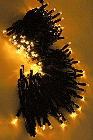 Электрогирлянда нить ТВИНКЛ ЛАЙТ BLINKING  КАУЧУКОВАЯ - 24V, (мерцающая) 100 теплых белых LED ламп, 10 м, коннектор, черный провод-каучук, уличная, LEGOLED LL100-1-1WWГирлянды НИТИ<br>Система LEGOLED - включает светодиодные (LED) электрогирлянды разных типов на каучуковых проводах, имеющие единые универсальные коннекторы (IP 54). Благодаря различным элементам, входящим в эту систему (нить, бахрома, световой занавес) возможно создание любых непрерывных светодиодных композиций любой сложности и метража. Каучуковые провода рассчитаны на эксплуатацию при отрицательных температурах до -50°C. Влагозащищенные коннекторы обеспечивают полную гидроизоляцию, простоту соединений и безопасность монтажа. Электрогирлянды системы LEGOLED идеально подходит для суровых климатических условий с высокой влажностью и перепадами температур.<br> <br>Электрогирлянда ТВИНКЛ ЛАЙТ МЕРЦАЮЩАЯ  КАУЧУКОВАЯ - 24V,  (TWINKLE LIGHT BLINKING 24V) с LED лампочками на морозостойких каучуковых проводах работает при напряжении 220V/24V и имеет мерцающие диоды (каждый пятый светодиод мерцает). С функцией мерцания гирлянда выглянит оригинально, необычайно эффектно и нарядно. Гирлянда  защищена от влаги, поэтому ее можно использовать как в помещении, так и на улице. Гирлянда оснащена коннектором, позволяющим соединять до 10 гирлянд в одну нить.<br> <br>ВНИМАНИЕ!  Для подключения до 5-ти электрогирлянд к сети, необходимо приобрести трансформатор с выпрямителем - (арт. PTR30-3A), до 10-ти электрогирлянд - трансформатор (арт. PTR60-3A) и переходник (арт.LLA-1-1).  <br>Также для удобства монтажа вы можете отдельно приобрести разветвители на два разъема - арт. LLR12-1, на три разъема - арт. LLR13-1 и пять разъемов - арт. LLR15-1. <br> <br>Характеристики:<br>Количество LED-ламп: 100<br>Каждый пятый светодиод мерцает<br>Мощность: 9,2 Вт;<br>Напряжение: 24V (трансформатор в комплект не входит и приобретается отдельно);<br>Цвет: теплый белый<br>Длина провода: 10 м;<br>Провод: черный каучук;<br>Гирлянда имеет коннекто