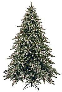 Искусственная ель ПЕРВЫЕ ЗАМОРОЗКИ заснеженная, с шишками, 243 см, National Tree Co 31SCMC80/SR-401-80Ели выше 2,0 м National Tree<br>Пушистая крона, припорошенные серебристым инеем иголки, еловые шишки - эта ель свежа и чудесна!<br> <br>Искусственная ель ПЕРВЫЕ ЗАМОРОЗКИ  привлекает внимание изяществом и лаконичностью. Припорошенные снегом веточки ели украшены натуральными еловыми шишками.  Елочка изумительно красива и поражает своей реалистичностью. Она будет хороша в любом интерьере, внося ощущение уюта и, одновременно зимней свежести.<br> <br>Высота ели: 2,43 м Нижний диаметр - 1,45 мХвоя - трехслойное PVC<br>Количество веточек - 1891Длина иглы - 2,2 см<br>Цвет хвои: зеленый<br>Декор: сильно заснеженная хвоя, натуральные еловые шишки.<br>На фотографии может быть изображена искусственная ель этой модели, но другого размера.Ель разбирается до ветвей, ветви крепятся к стволу на крючках. Она компактна, занимает мало места при хранении. Поставляется в коробках из плотного картона, предполагающих многолетнее хранение. Ветви после хранения очень быстро восстанавливают форму. Собирается ель быстро, благодаря цветной маркировке веток и точек крепления. Имеет металлическую подставку, обеспечивающую устойчивость. Ель сертифицирована по европейским стандартам качества и безопасности.<br> <br>Производитель: National TREE COMPANY, Cranford, New Jersey, USA<br>Производство размещено в Гонконге.<br>
