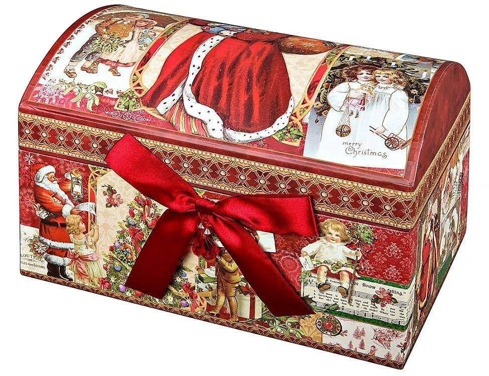 Коробка для новогодних подарков 22