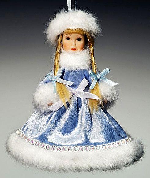 Новогодние платья для кукол