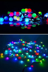 ��������������� ������������ �������� ����, 100 RGB LED ����� ��� �����, 10 �, ���������, ���������� ������, Beauty Led